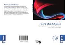 Racing Club de France kitap kapağı