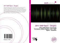 Portada del libro de 2011 SAP Open – Singles