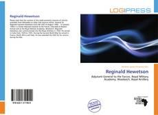 Couverture de Reginald Hewetson