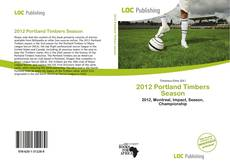 Bookcover of 2012 Portland Timbers Season