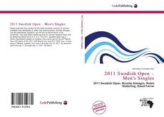 2011 Swedish Open – Men's Singles的封面