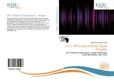 Bookcover of 2011 Winston-Salem Open – Singles