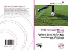 Buchcover von 2012 Rochester Rhinos Season