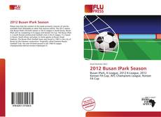 Bookcover of 2012 Busan IPark Season