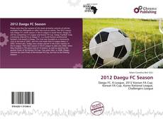 Bookcover of 2012 Daegu FC Season