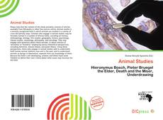 Bookcover of Animal Studies