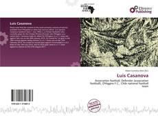 Portada del libro de Luis Casanova