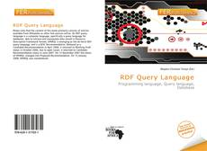 Bookcover of RDF Query Language