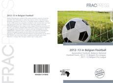 Bookcover of 2012–13 in Belgian Football