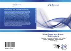 Bookcover of Hans Georg von Arnim-Boitzenburg