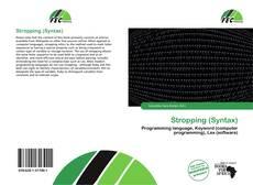 Capa do livro de Stropping (Syntax)