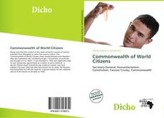 Обложка Commonwealth of World Citizens