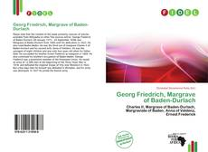 Buchcover von Georg Friedrich, Margrave of Baden-Durlach