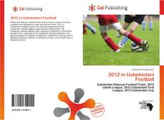Bookcover of 2012 in Uzbekistani Football