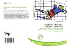 Обложка Costa Rica National Football Team 2012