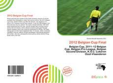Copertina di 2012 Belgian Cup Final