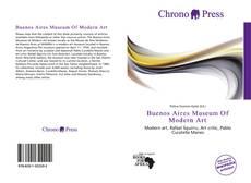 Buenos Aires Museum Of Modern Art kitap kapağı