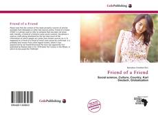 Bookcover of Friend of a Friend