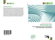 Couverture de Edinburgh Cup