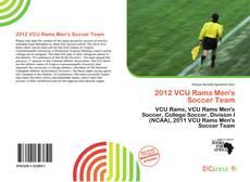 Copertina di 2012 VCU Rams Men's Soccer Team