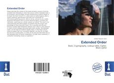 Bookcover of Extended Order