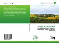Bookcover of Ridge, Hertfordshire
