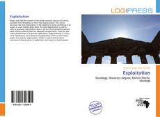 Bookcover of Exploitation