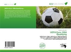 Bookcover of UEFA Euro 1984 Qualifying