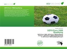 Bookcover of UEFA Euro 1988 Qualifying
