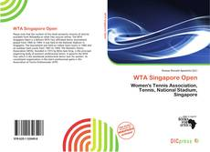 Bookcover of WTA Singapore Open