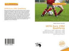 Bookcover of UEFA Euro 1992 Qualifying