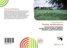 Bookcover of Thorley, Hertfordshire