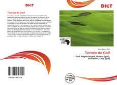 Buchcover von Terrain de Golf