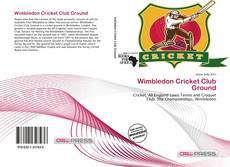 Copertina di Wimbledon Cricket Club Ground