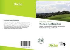 Bookcover of Weston, Hertfordshire