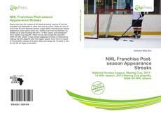 Borítókép a  NHL Franchise Post-season Appearance Streaks - hoz