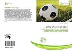 Bookcover of 2012 Dhivehi League