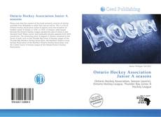 Обложка Ontario Hockey Association Junior A seasons