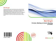 Bookcover of Mat Wright