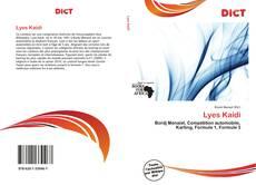 Capa do livro de Lyes Kaidi