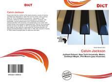 Calvin Jackson kitap kapağı