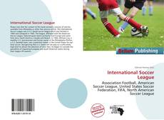 Portada del libro de International Soccer League