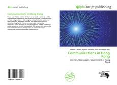 Copertina di Communications in Hong Kong