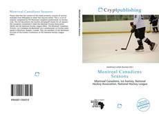 Copertina di Montreal Canadiens Seasons