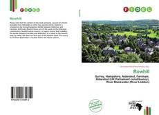 Buchcover von Rowhill