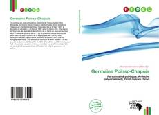 Bookcover of Germaine Poinso-Chapuis