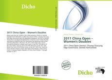 Обложка 2011 China Open – Women's Doubles