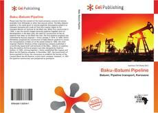 Portada del libro de Baku–Batumi Pipeline
