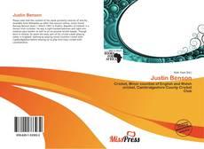 Bookcover of Justin Benson