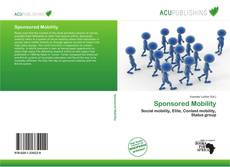 Buchcover von Sponsored Mobility